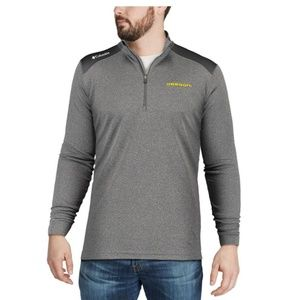 Columbia Golf Grey 1/4 Zip Pullover Jacket NWOT